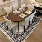 Vianney Courtyard Ivory/Gray Area Rug Rug Size: Rectangle 7'10