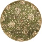 Gonsalves Green Agra Rug Rug Size: Rectangle 3'3