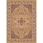 Barwicks Beige/Ivory Medallion Rug Rug Size: Rectangle 7'7