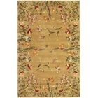Veronique Gold Tulip Garden Area Rug Rug Size: Rectangle 3'6