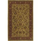 Garrison Gold/Red Area Rug Rug Size: Rectangle 8' x 11'
