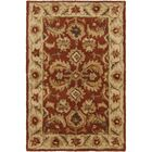 Arcadia Hand-Tufted Red Area Rug Rug Size: Rectangle 2' x 3'