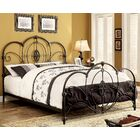 Doreen Panel Bed Color: Black, Size: Queen