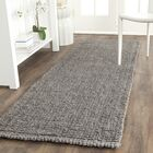 Greene Hand-Woven Gray Indoor Area Rug Rug Size: Runner 2'6