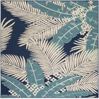 Bethel Ivory Indoor/Outdoor Area Rug Rug Size: Square 7'10