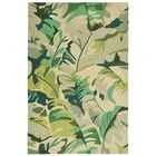 Rachael Hand-Tufted Green Indoor/Outdoor Area Rug Rug Size: Rectangle 3'6