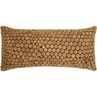 Fadila 100% Cotton Lumbar Pillow Color: Green