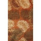 Delview Fern View Red Plants Area Rug Rug Size: Rectangle 8' x 10'6