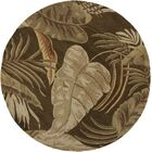 Imala Mocha Rainforest Floral Area Rug Rug Size: Rectangle 5' x 8'