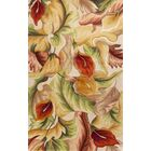 Ellicott Ivory Calla Lillies Rug Rug Size: Rectangle 3'3