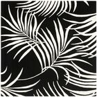 Orin Black/Ivory Rug Rug Size: Square 6'