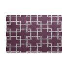 Connelly Purple Indoor/Outdoor Area Rug Rug Size: Rectangle 3' x 5'