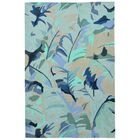 Rachael Hand-Tufted Blue Indoor/Outdoor Area Rug Rug Size: Rectangle 7'6