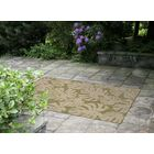 Lambert Fronds Power Loom Green Indoor/Outdoor Area Rug Rug Size: Rectangle 7'10