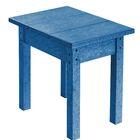 Alanna Side Table Color: Blue, Size: 17
