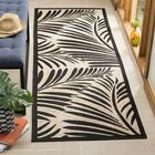 Bridgeville Tropic Palm Silhouette Area Rug Rug Size: Runner 2'7