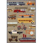 Bailey Hand-Tufted Brown Kids Rug Rug Size: Rectangle 8' x 10'