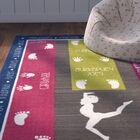 Anastasia Gymnastics Fun Printed Area Rug