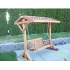 Yard Frame with Roof Size: 76.5
