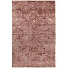 San Michele Hand-Knotted Pink Area Rug Rug Size: Rectangle 5'6