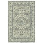 Eugene Hand-Tufted Gray Area Rug Rug Size: Rectangle 3'6