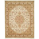 Della Hand-Woven Ivory Area Rug Rug Size: Rectangle 8'6