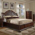Alanya Upholstered Storage Platform Bed Size: King