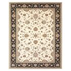 Barden Cream/Navy Area Rug Rug Size: Rectangle 5' x 8'