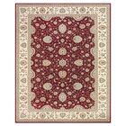 Barden Red / Cream Rug Rug Size: Rectangle 4' x 6'