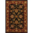 Balthrop Black/Red Area Rug Rug Size: Rectangle 4' x 6'