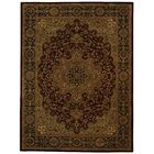 Balthrop Red/Black Area Rug Rug Size: Rectangle 5' x 8'