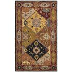 Balthrop Hand-Tufted Red Rug Rug Size: Rectangle 3' x 5'
