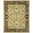 Balthrop Ivory/Black Area Rug Rug Size: Rectangle 3' x 5'