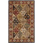 One-of-a-Kind Balthrop Floral Hand-Tufted Wool Green/Red Area Rug Rug Size: Rectangle 11' x 17'
