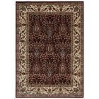 Bayhills Brown/Burgundy Area Rug Rug Size: Rectangle 5'3