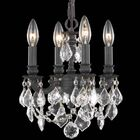Downes 4-Light Candle Style Chandelier Crystal Trim: Royal Cut