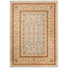Richborough Gray/Beige Area Rug Rug Size: Rectangle 5'3