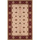 Forrestal Ivory/Red Area Rug Rug Size: Rectangle 5' x 8'