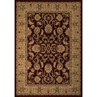 Mira Monte Burgundy/Tan Area Rug Rug Size: Rectangle 5'3