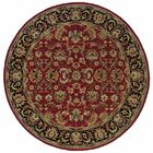Vinoy Hand-made Red/Black Area Rug Rug Size: Rectangle 8' x 10'