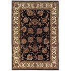 Shelburne Brown/Ivory Area Rug Rug Size: Rectangle 4' x 6'