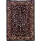 Shelburne Traditional Blue/Red Area Rug Rug Size: Rectangle 12' x 15'