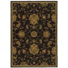 Bovill Black/Green Area Rug Rug Size: Rectangle 9'10