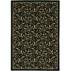 Cipriani Yellow/Black Area Rug Rug Size: Rectangle 5'3