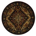 Carnasheeran Assorted/Red Rug Rug Size: Round 8'