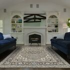 Flaxberry Hand-Knotted Ivory/Walnut Area Rug Rug Size: Runner 2'6