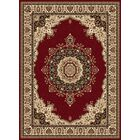 Clarence Red/Beige Area Rug Rug Size: 6'7'' x 9'6''