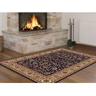 Clarence Navy/Beige Area Rug Rug Size: 8'9'' x 12'3''