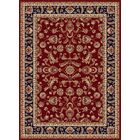 Clarence Red/Navy Blue Area Rug Rug Size: 7'10'' x 10'3''