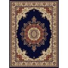 Clarence Navy/Blue Area Rug Rug Size: 7'10'' x 10'3''